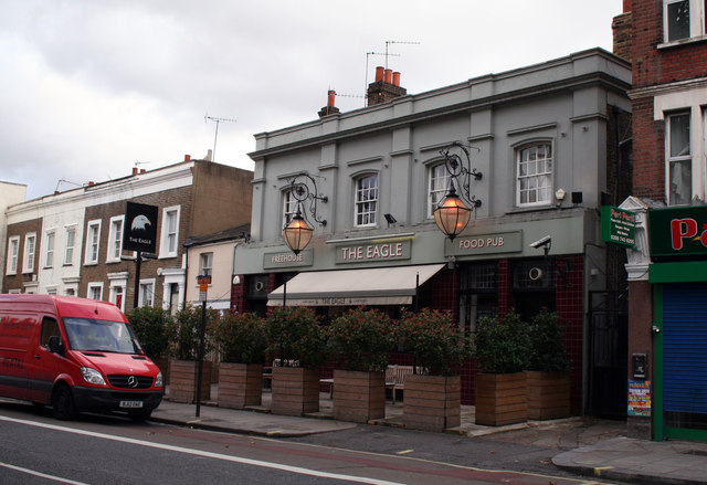 Askew Road:  The 'Eagle'