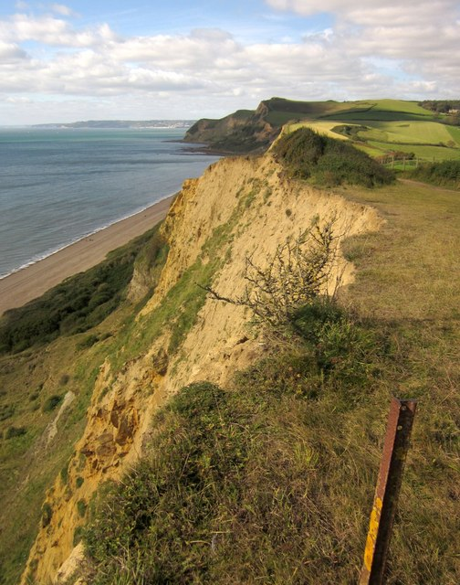 Cliffs east of Eype