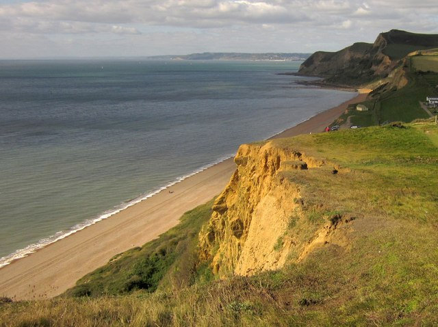 Clifftop above Eype Mouth
