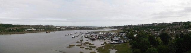 River Medway Panorama (2)