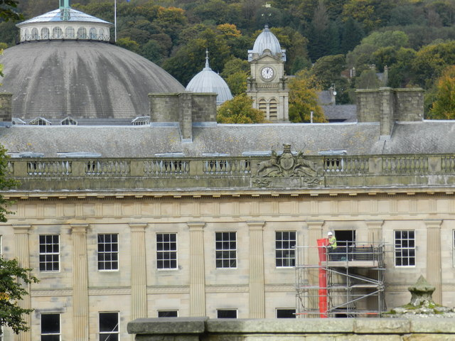 Buxton Crescent; restoration