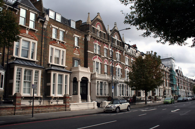 Kensington:  92 and 90, Holland Road