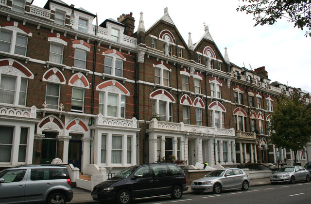 Kensington:  68 and 66, Holland Road
