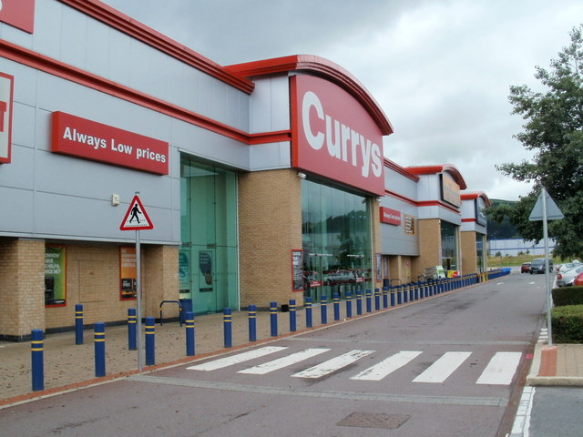 SW side of  Crossways Retail Park, Caerphilly