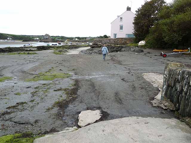 Pembrokeshire Coast Path at Parrog
