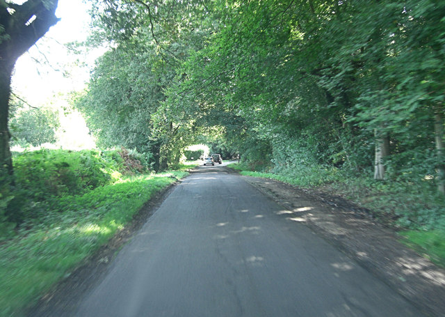 Morgaston Road south of Beaurepaire Farm