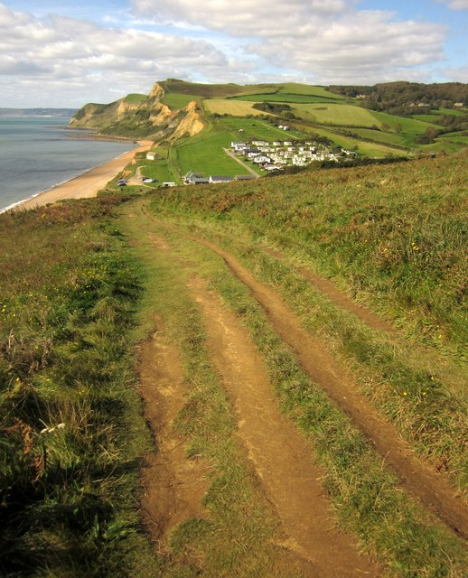 Coast path to Eype Mouth