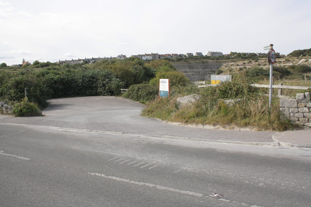 Entrance to Coombefield Quarry from Southwell Road