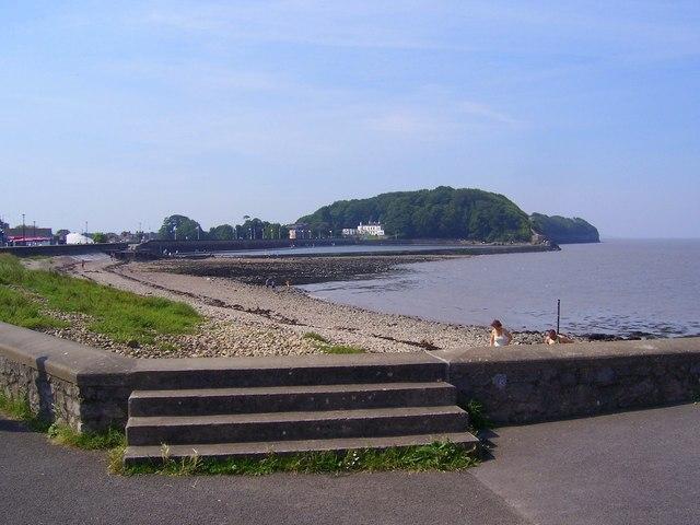 Clevedon beach