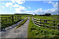 SK1465 : Entrance to Highlow Farm by Neil Theasby