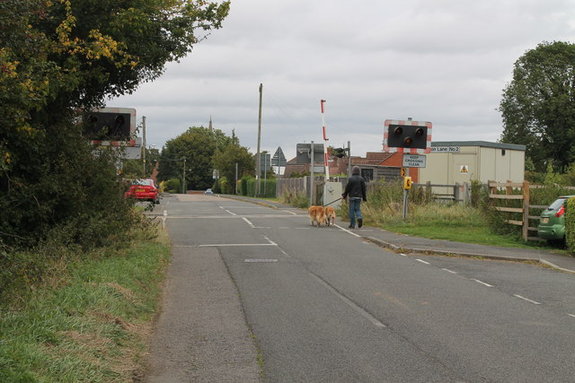 Burton Lane No 2 Level Crossing