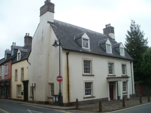 Grade II listed Ruperra House, Brecon