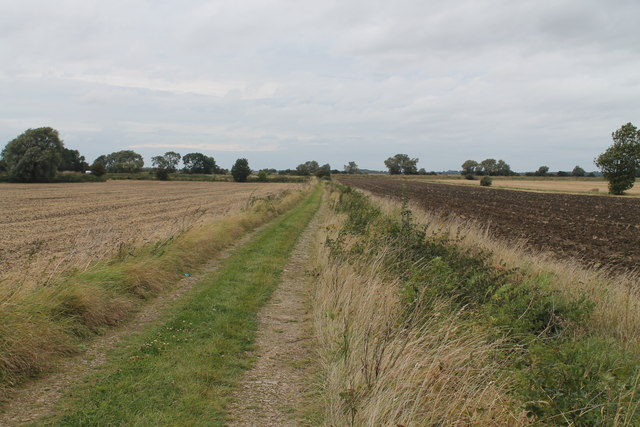 Track and Drain off Star Fen Drove