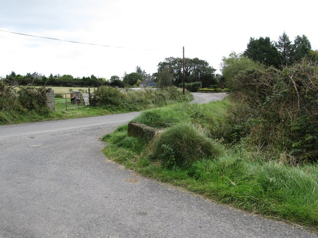 The junction of Beletra and Ballygoley roads