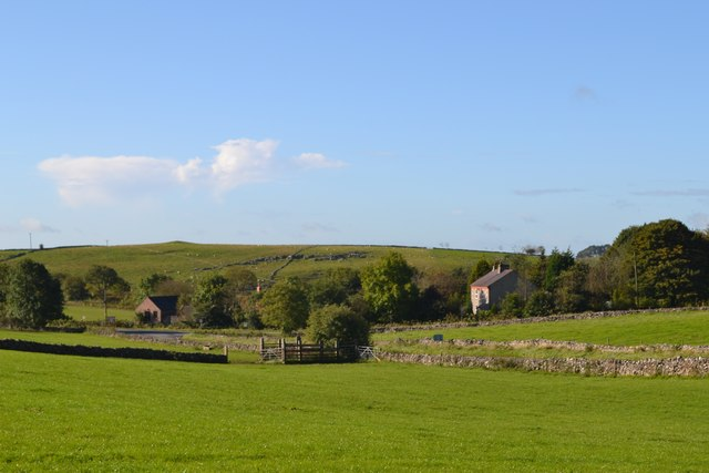 Across the fields - view south to Parsley Hay