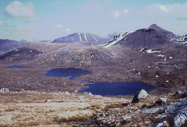 Southern slopes of Beinn a' Chàisgein Mòr