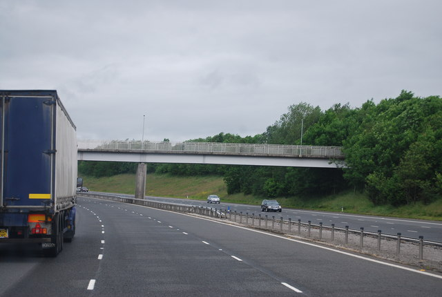Bridge over the A74(M) at Ecclefechan