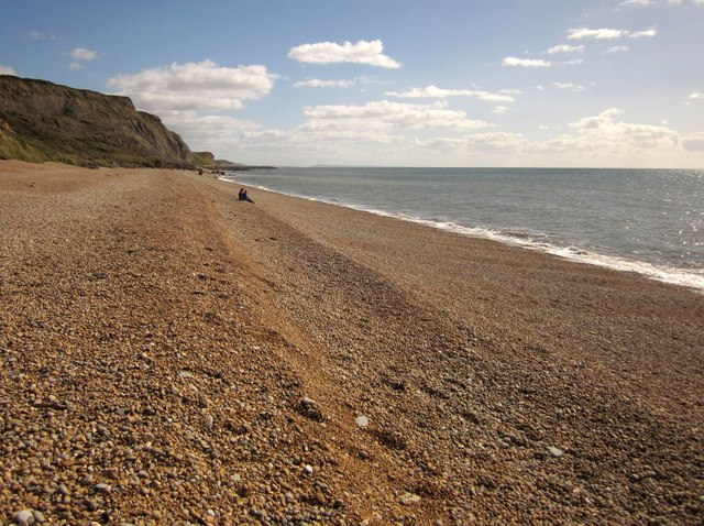 Beach at Eype Mouth