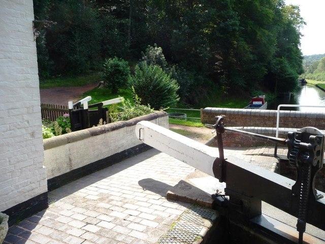 Garden gates, lock cottage, Hyde lock