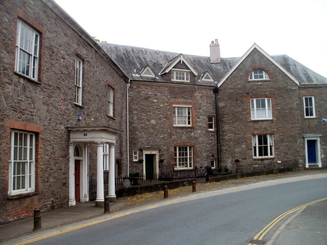 Buckingham Place, Brecon