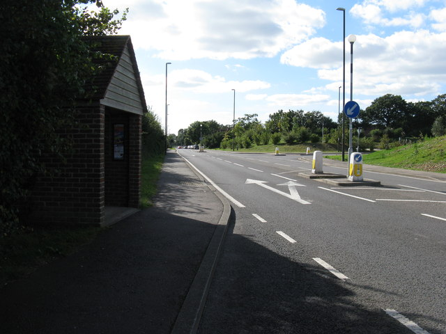 SW along Stane Street at Maudlin