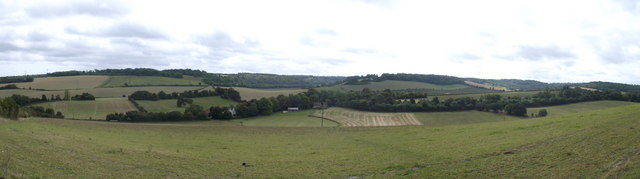 Panorama of Luddesdown