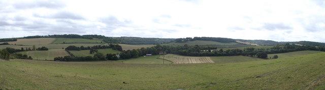 Panorama of Luddesdown