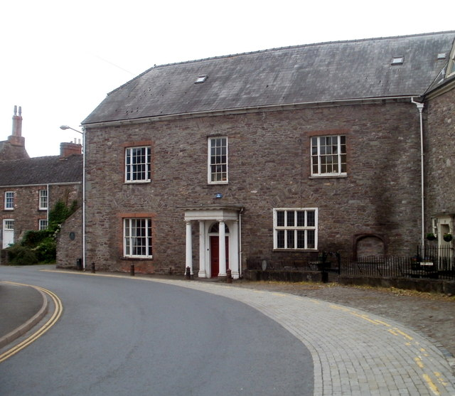Eastern side of Buckingham Place, Brecon