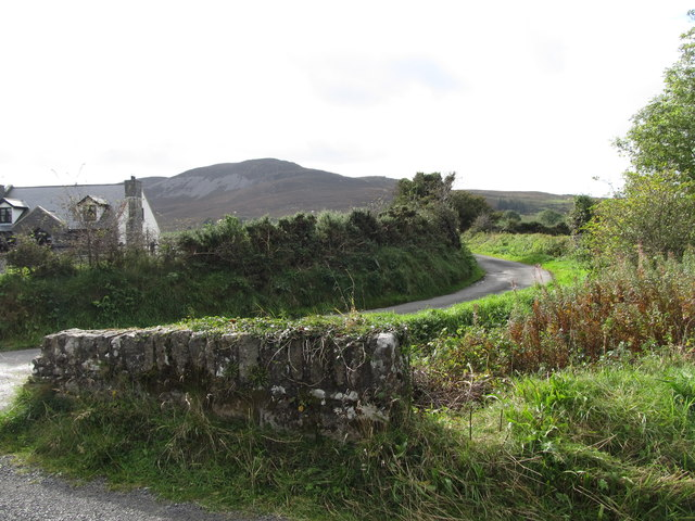 Access road to farms and cottages at Ballygoley