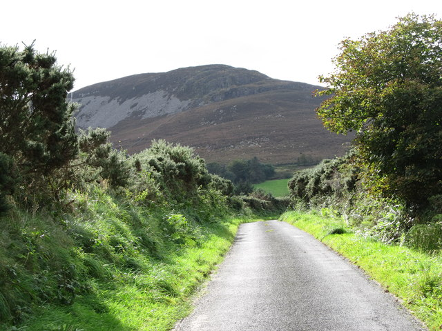 The slopes of Slievemaglogh from the Ballygoley road