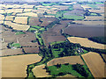 TL6533 : Little Sampford from the air by Thomas Nugent