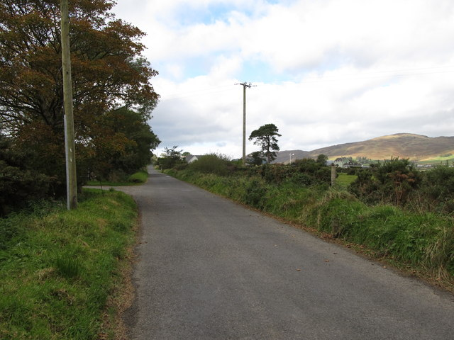 The Benagh to Aghameen road at Ballygoly