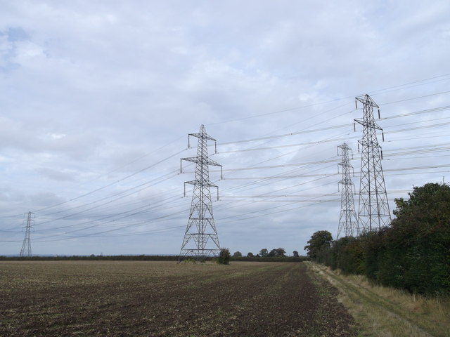 Wealdway and Electricity Pylons