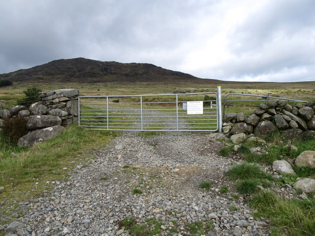 The mountain gate on the Tain Way