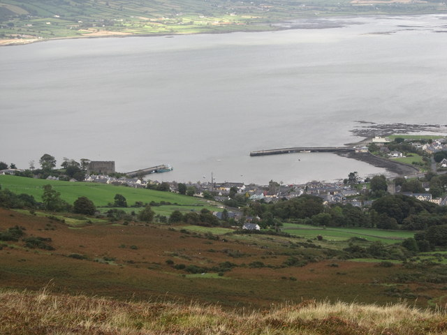 Carlingford Harbour from Goylin Pass
