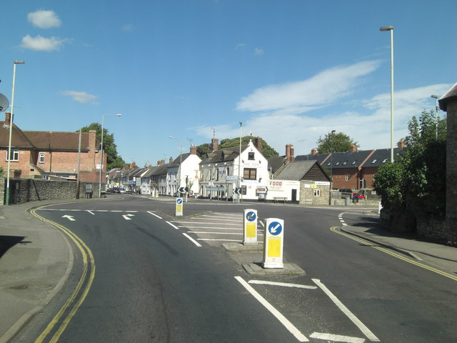A361 junction with B4019