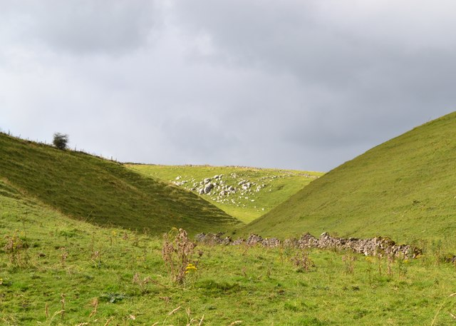 Smerrill Dale - branch of Long Dale, Derbyshire