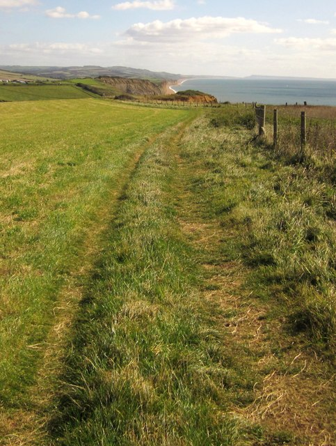 Coast path above Hope Corner