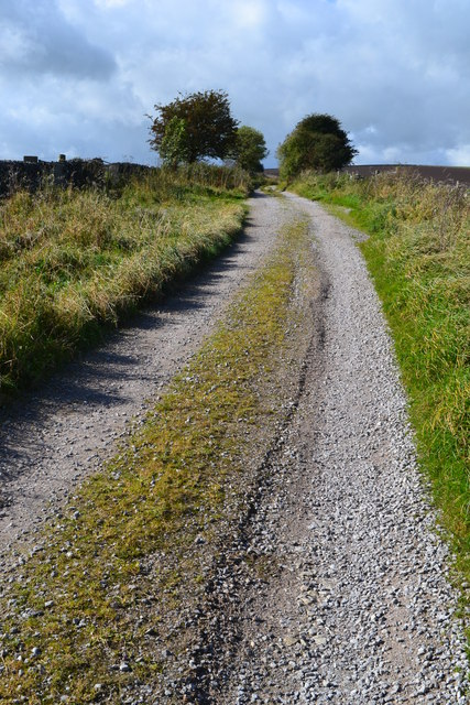Track west of Pikehall