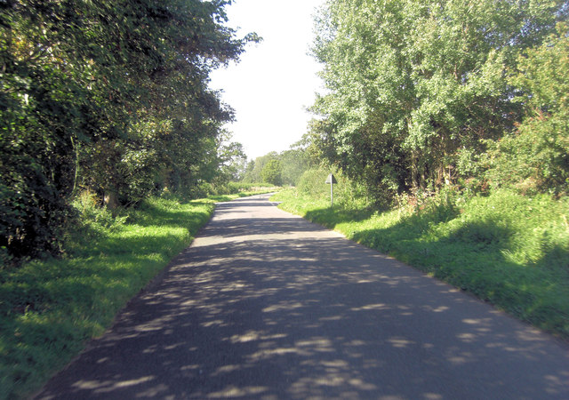 Hambidge Lane crossroads with Bryworth Lane