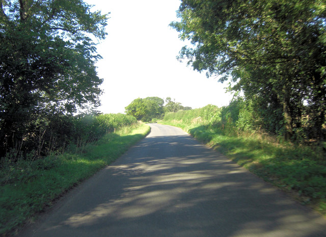 Hambidge Lane north of Poultry Farm