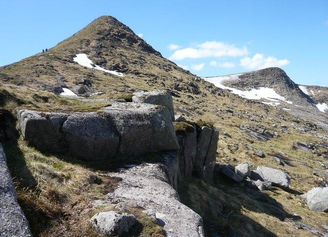 North face of Stob Coir an Albannaich
