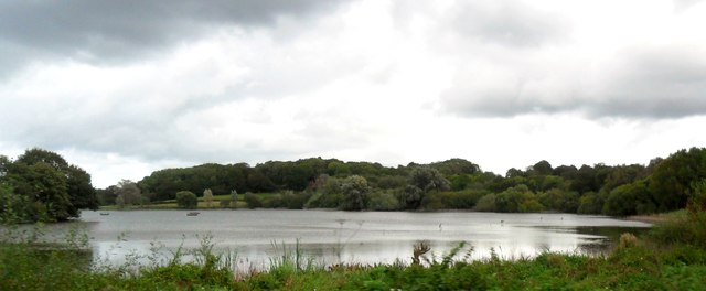 Weir Wood Reservoir near East Grinstead