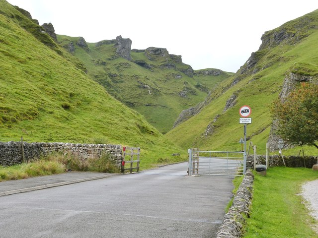 Winnats Pass, near Castleton, Derbyshire