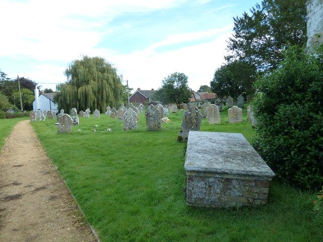 St Wolfrida's Churchyard, Horton (VII)