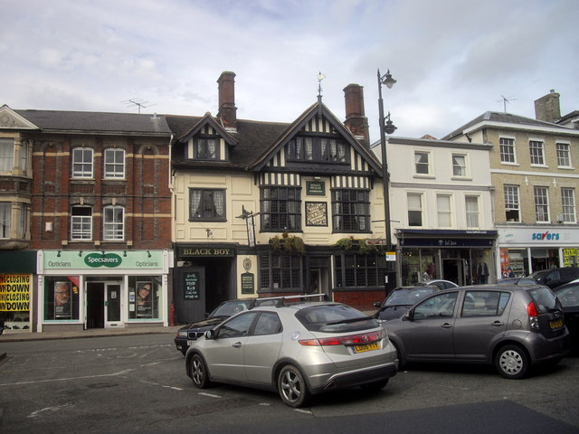 The Black Boy Hotel, Market Hill, Sudbury