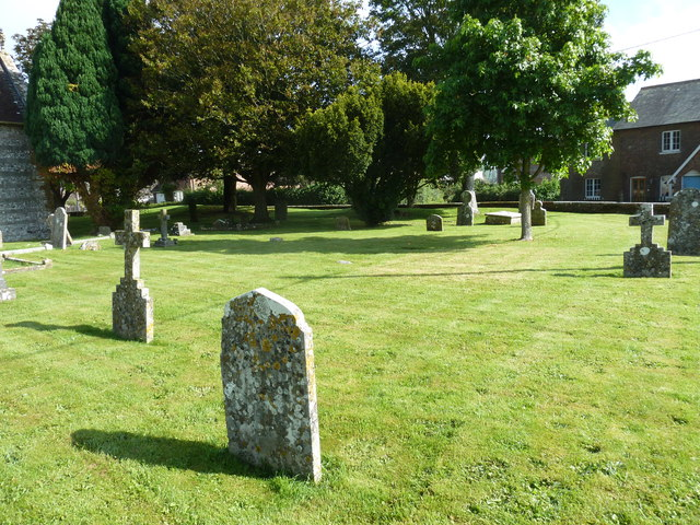 St Nicholas, Winterborne Kingston: churchyard (1)