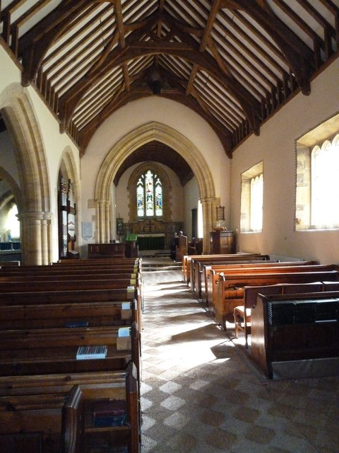 Inside St Nicholas, Winterborne Kingston (B)