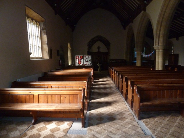 Inside St Nicholas, Winterborne Kingston (H)