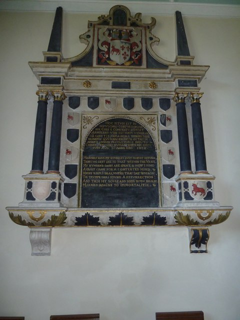 St Mary, St Cuthberga and All Saints, Witchampton- memorial (4)